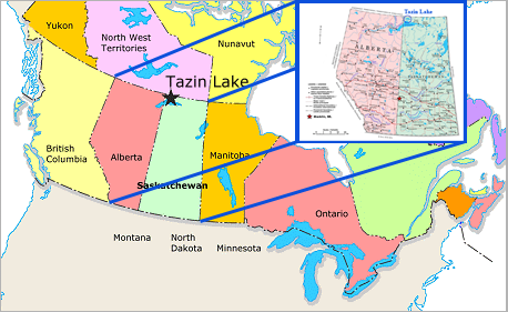 Where Is Fort Mcmurray On A Map Of Canada My Blog